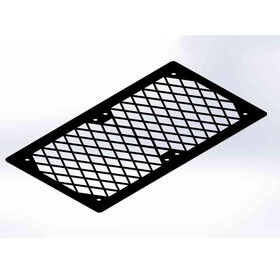 Fan Grill 2x140 Diamond black