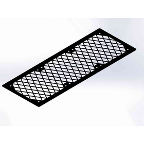Fan Grill 3x120 Diamond black