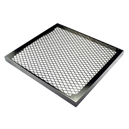 MO-RA3 360 fan grill diamond stainless steel