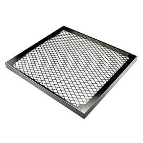 MO-RA3 360 Fan Grill - Diamond - stainless steel