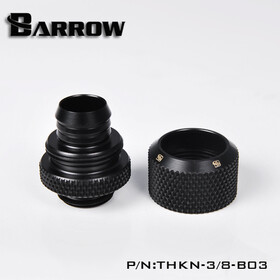 Barrow Compression Fitting 13/10 black