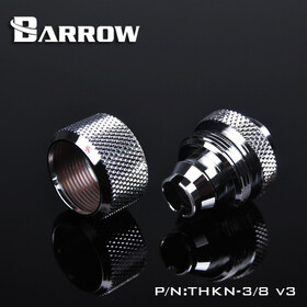 Barrow Compression Fitting 16/10 silver nickel