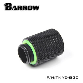 Barrow G1/4 Male To Female 20mm Extender black