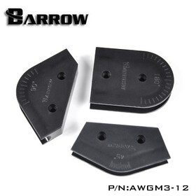 Barrow Hardtube Bending Mandrels - 12mm