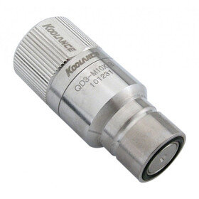 QD3 Male Quick Disconnect No-Spill Coupling, Compression...