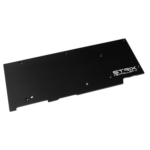 HEATKILLER® IV eBC - Backplate for ASUS 2080Ti STRIX